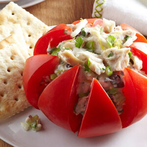 tomates rellenos de atun
